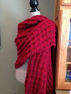 Ravelry: Dragon Scale Prayer Shawl pattern by Louis Chicquette Crochet Prayer Shawls, Knitted Shawls, Crochet Scarves, Knit Or Crochet, Crochet Shawl, Crochet Granny, Loom Knitting Patterns, Free Knitting, Knitting Tutorials