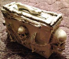 Skeleton ammo can. Could make a cooler similar