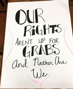 Awesome Women's March Protest Posters to Inspire Your Own