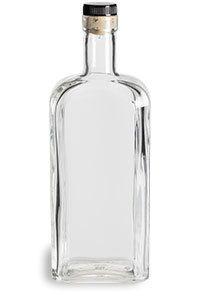 750 ml oz) Kansas City Liquor Bottle with Synthetic T-Top Cork - Liquor Bottles, Glass Bottles, Vodka Bottle, Pet Plastic Bottles, Bottle Design, Wine Decanter, Kansas City, Cork, Baking Supplies