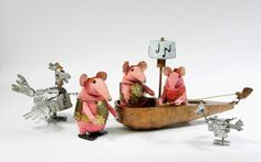 The Clangers, Bagpuss, Ivor the Engine… Some of the best-loved children's-television characters of all time
