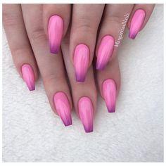 💗💗 • • • • @vetro_usa # 184 # 321 color ombre #nails #coffinnails#nailart#stilettonails #MargaritasNailz#vetrogel#nailfashion#naildesign#nailswag#hairandnailfashion#nailedit#nailcandy#nailprodigy#ombrenails#nailsofinstagram#nudenails#pink #nailaddict#nailstagram#instagramnails#nailsoftheday#nailporn#fallnails#nailpro#naildesigns#ombre#vetrousa#glitternails#fashionnails#pinknails