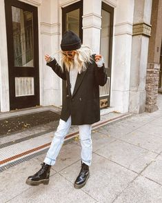 December 25 2019 at fashion-inspo Mode Outfits, Trendy Outfits, Fashion Outfits, Travel Outfits, Modest Fashion, Fashion Clothes, Fall Winter Outfits, Autumn Winter Fashion, Grunge Winter Outfits