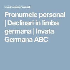 Pronumele personal | Declinari in limba germana | Invata Germana ABC