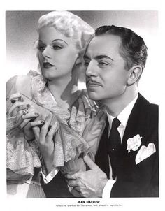 Jean Harlow and William Powell..  He was the man in her life up until her death in 1937, at the age of 26.