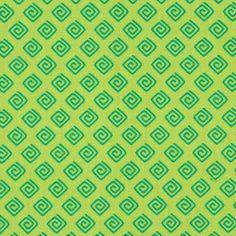 Cotton Spiral Diamond 2 - Cotton - light green