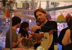 Jaime entrenando para el rodaje en Sevilla. #JuegoDeTronos