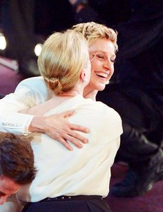 With Ellen at the 2014 Academy Awards
