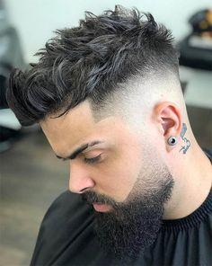 40 Simple, Regular, Clean Cut Haircuts for Men - Men's Hairstyles Quiff Haircut, Quiff Hairstyles, Cool Hairstyles, Modern Hairstyles, Teenage Boy Hairstyles, Hairstyle Ideas, Stylish Short Haircuts, Cool Haircuts, Haircuts For Men