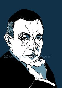 Rachmaninoff Portrait of the great Conductor Pianist by ArtyMargit
