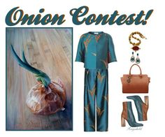 """Onions Contest in Designed by You!"" by ragnh-mjos ❤ liked on Polyvore featuring Dries Van Noten, Jil Sander, LE VIAN and Karen Sugarman Designs"
