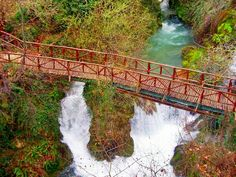 Arapitsa river Naoussa Greece, Waterfall, River, Places, Outdoor, Outdoors, Waterfalls, Outdoor Games, Outdoor Living