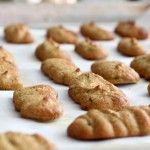 Coconut Flour Lady Finger Cookies