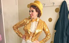 A Day in the Life of Lesli Margherita of 'Dames at Sea' - October ...
