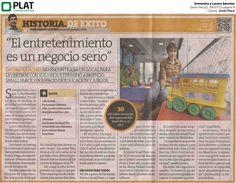 Small Place: Entrevista a Lucero Sánchez en diario Perú21 (28/07/13)