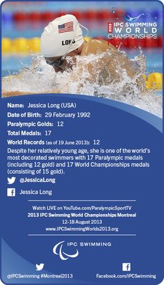 Collector's Cards : Jessica Long