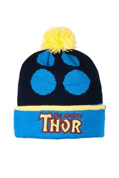 Addict Thor Beanie http://www.71queens.com/collections/addict/products/addictmarvelthorbeanie