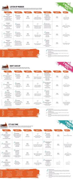 Tough Mudder 3 Month Training Plan