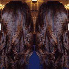 Полный Волосы шоколадного цвета: самые модные оттенки + 100 ФОТО