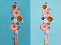 Balancing donuts (with tutorial) on Behance