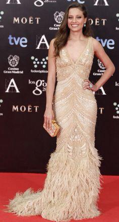Michelle Jener (Naeem Khan) - Premios Goya 2014