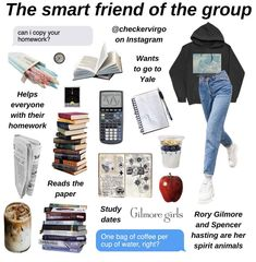 The Smart Friend Aesthetic Fashion, Aesthetic Clothes, Looks Hippie, Teen Trends, Aesthetic Memes, Smart Girls, Types Of Girls, Just Girl Things, Girls Life