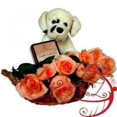Classic Romance Gift Basket to Burundi - http://www.247babygifts.net/classic-romance-gift-basket-to-burundi/