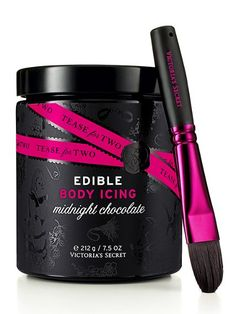 Tease for Two Edible Body Icing in Midnight Chocolate #VictoriasSecret http://www.victoriassecret.com/beauty/seductive-treats/edible-body-icing-in-midnight-chocolate-tease-for-two?ProductID=5285=OLS?cm_mmc=pinterest-_-product-_-x-_-x