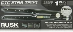 RUSK Engineering CTC Technology Professional Straight Iron