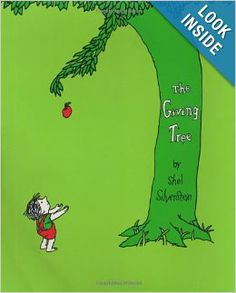 The Giving Tree: Shel Silverstein: 0000060256652: Amazon.com: Books. Beneath Silverstein's clear and simple text lies a complex fable about the joy of giving and the risks of taking too much. It opens the door for a wide variety of discussions on topics from love and self-sacrifice, to conservation and the environment.