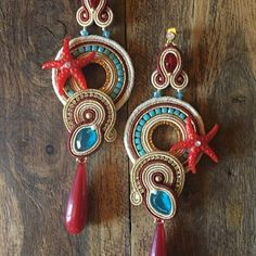 f927583361c8 SPECIAL PRICE Soutache Earrings Handmade Earrings Hand