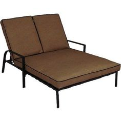 Braddock Heights Double Chaise Lounge, Seats 2