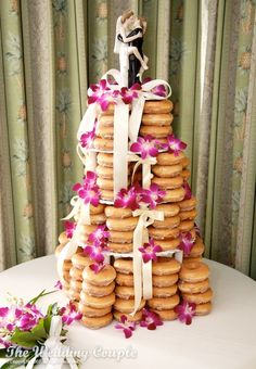 one of the better doughnut cakes I've come across