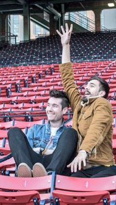 Dan Smith and Kyle Simmons of Bastille