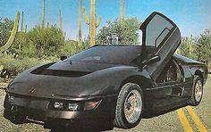 The Wraith Movie (1986) (Dodge M4S Turbo Interceptor)