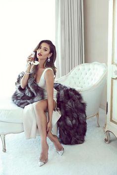 Shay Mitchell 50s inspired photoshoot