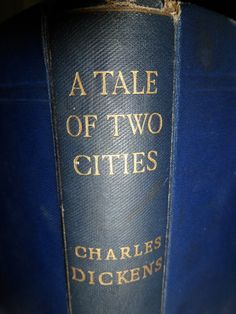 A Tale Of Two Cities By Charles Dickens 1893