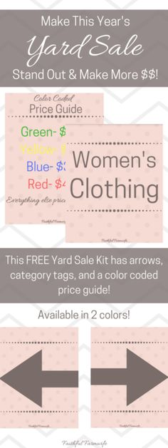 Yard Sale Branding Kit
