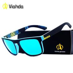 264487208b Viahda 2018 New Brand Squared Polarized Sunglasses Men Top Quality Male Sun Glasses  Driving Fashion Travel