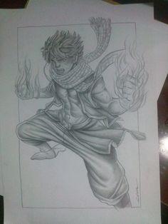 Ilustração fairy tail -Edi santos  Fairy tail illustration -Edi santos