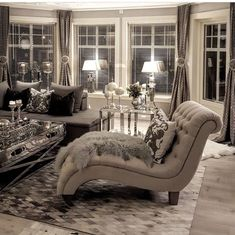 The Best Lounge Living Room Designs Glam Living Room, Living Room Decor Cozy, Elegant Living Room, Home Decor Bedroom, Living Room Furniture, Master Bedroom, Bedroom Chair, Luxurious Bedrooms, Luxury Living