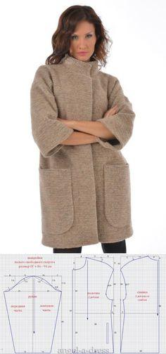Tunic Sewing Patterns, Coat Patterns, Clothing Patterns, Dress Patterns, Sewing Clothes, Diy Clothes, Mode Abaya, Iranian Women Fashion, Make Your Own Clothes