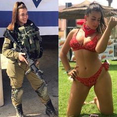 26 Badass Women Who Look Good in and Out of Uniform beautiful women