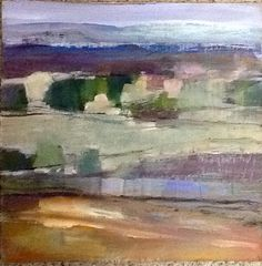 Snow on the Carrick Hills. Abstract Paintings, Landscape Paintings, Watercolor Paintings, Abstract Art, Color Studies, My Land, Abstract Landscape, Art School, Love Art