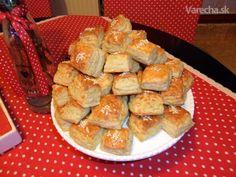 Nivovo-eidamové+kysnuté+pagáčiky+(fotorecept) French Toast, Muffin, Appetizers, Breakfast, Pizza, Food, Basket, Morning Coffee, Appetizer