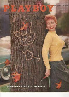 Vintage Playboy Magazine november 1955 mens adult glamour magazine
