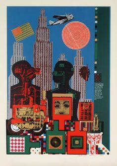 Eduardo Paolozzi | Wittgenstein in New York, 1964