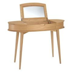 Apollo Light Dressing Table & Mirror primary image