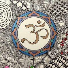 How to Use Chakra Healing to Transform Your Life Aum Tattoo, Hamsa, Yoga Illustration, Spiritual Symbols, Om Symbol, Elephant Art, Sacred Art, Henna Art, Dot Painting