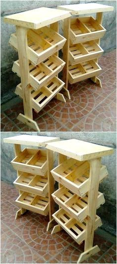 pallet display stand